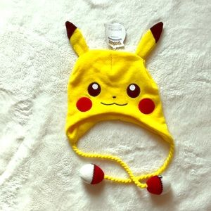 Pokémon winter hat Yellow size 14 and older NEW